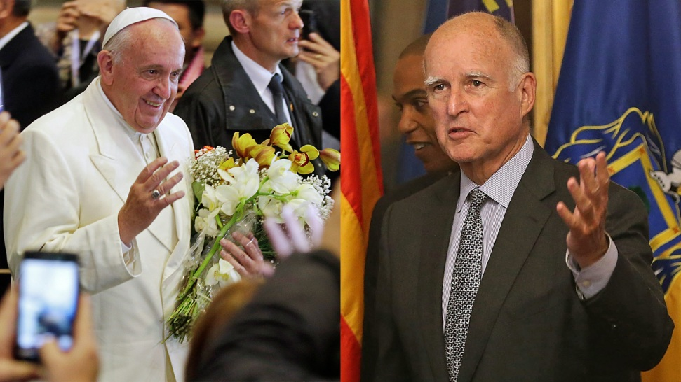 California Gov. Jerry Brown, Bay Area Mayors to Meet With Pope on Climate Change