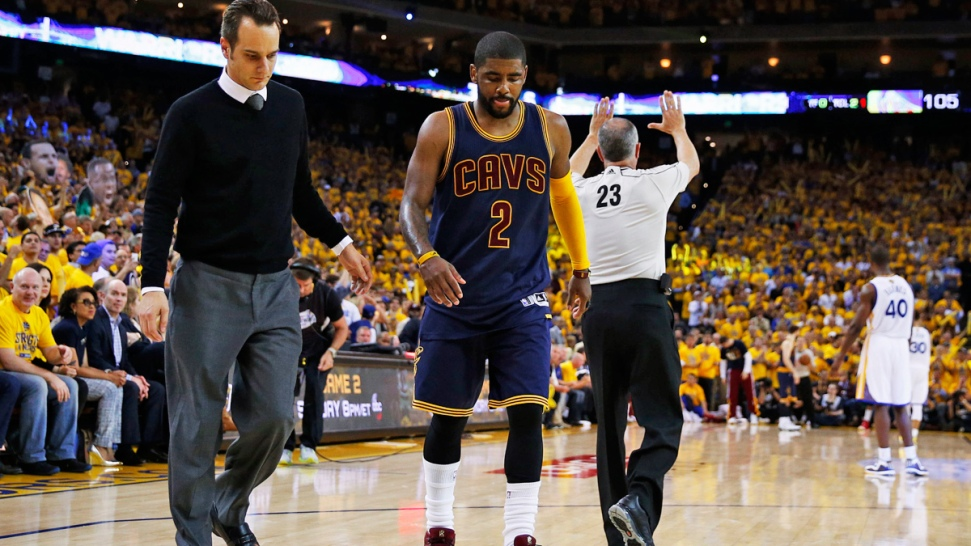 Cavs' Kyrie Irving Out For Finals