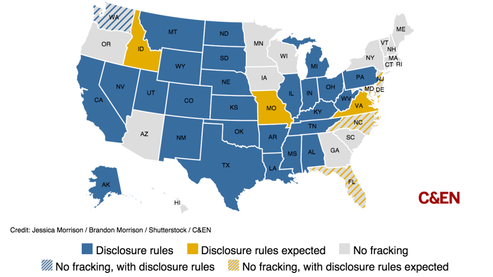 This Map Shows How How Fractured Fracking Regulation Is In The US - Us fracking map