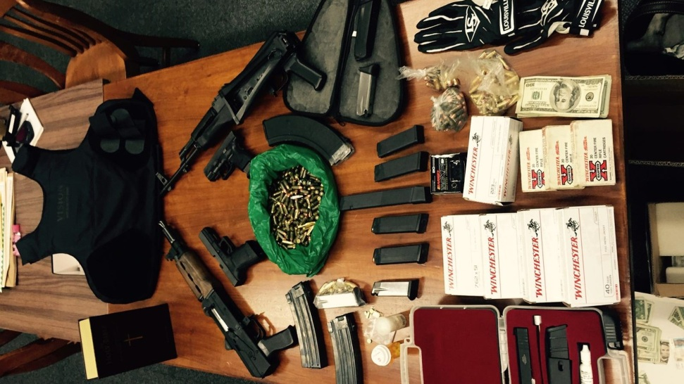 Police Find High-Powered Assault Rifles, Meth in East Bay Home