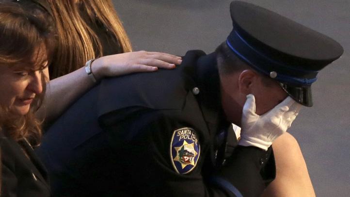 Final Goodbyes to Santa Cruz Police Officers - NBC ...