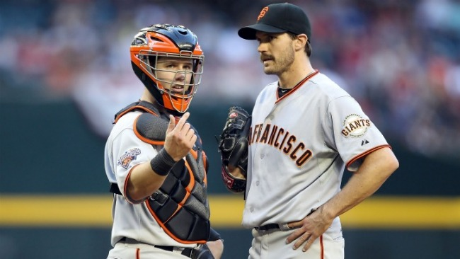 Zito Sprains Foot Early, Giants Still Win