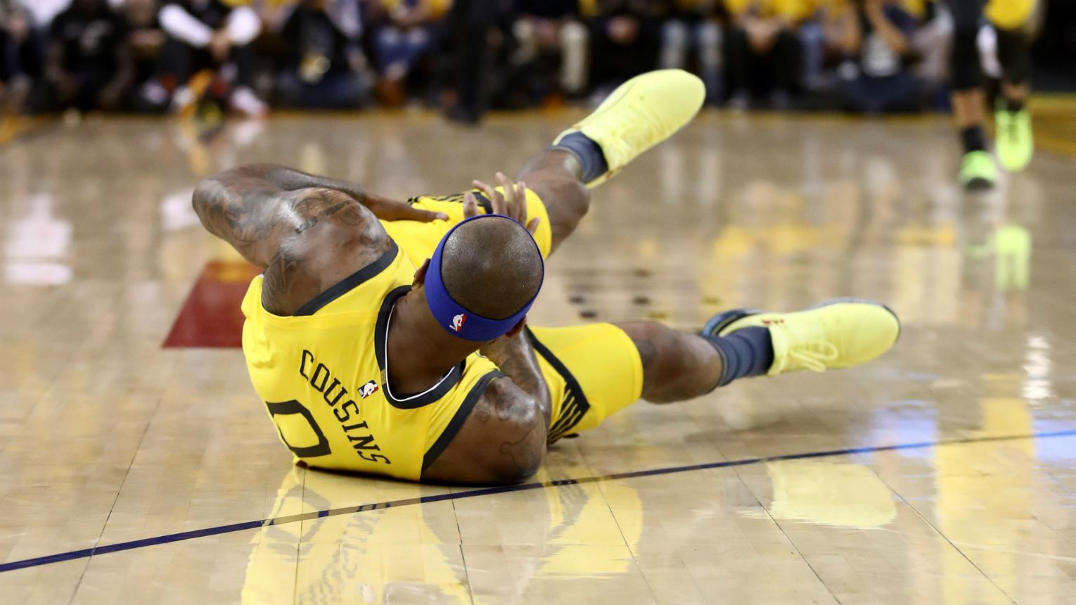 Warriors Confirm Cousins Has Torn Quad, Out Indefinitely