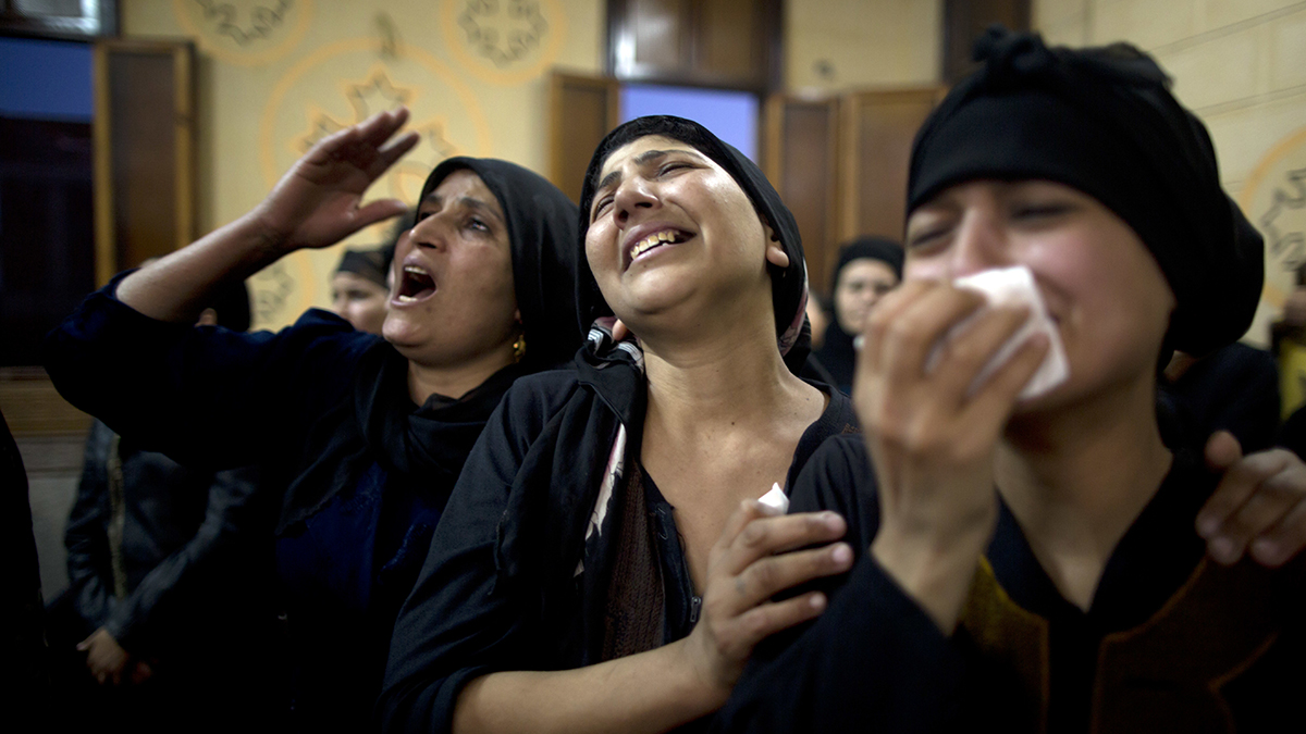 Pope Condemns 'Barbaric' Attack on Egypt Copts