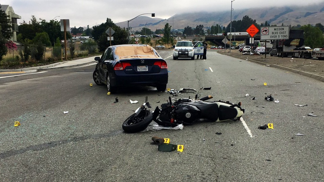 Motorcyclist Dies Following Collision in Fremont