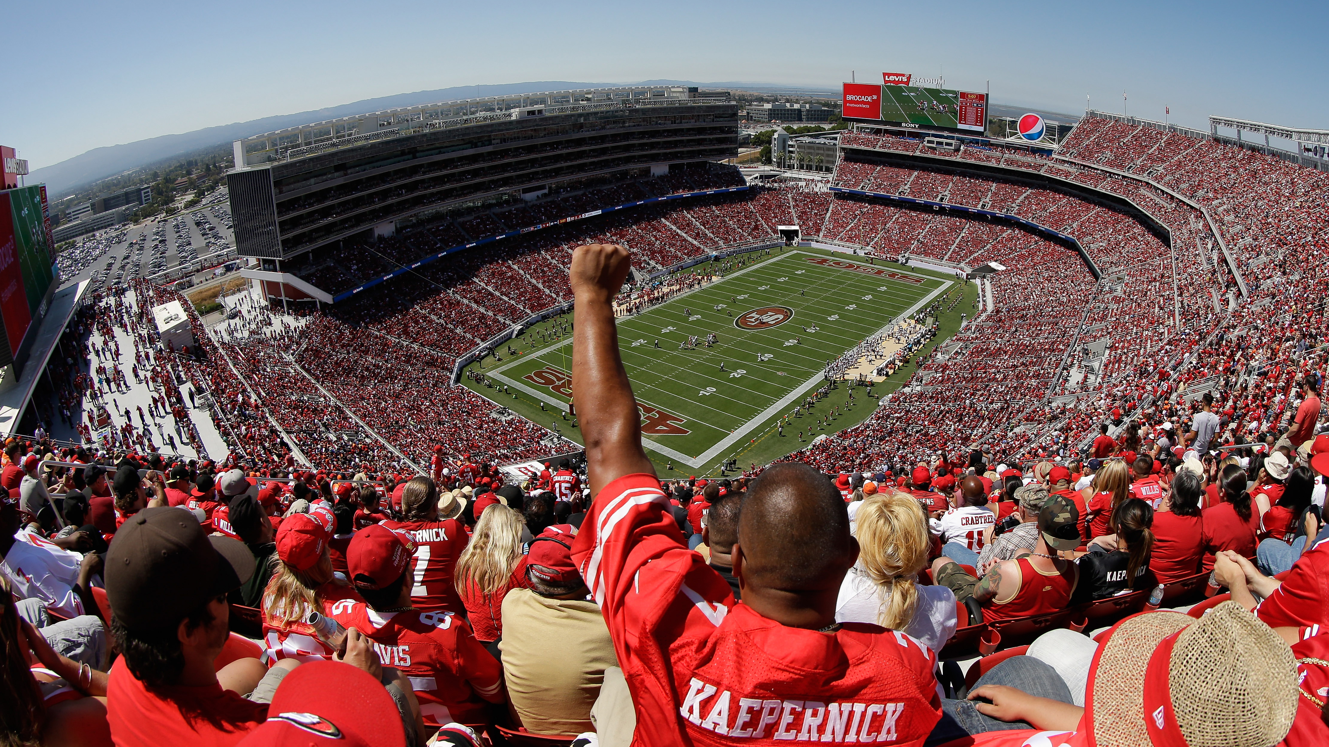 Traffic Nightmare Likely During 49ers Game at Levi's Stadium