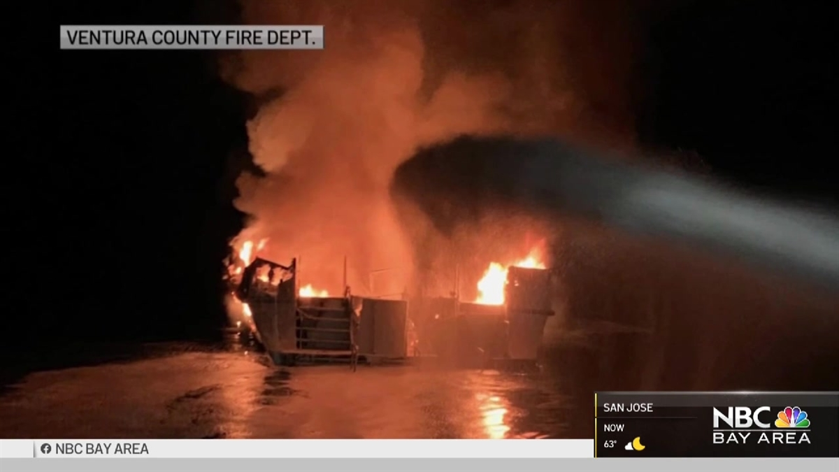 Sausalito Divers React to Deadly Boat Fire Off SoCal Coast