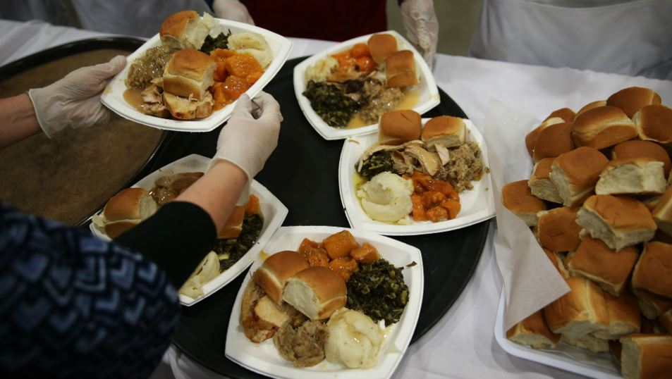 West Coast Disproportionately Eats Salad on Thanksgiving