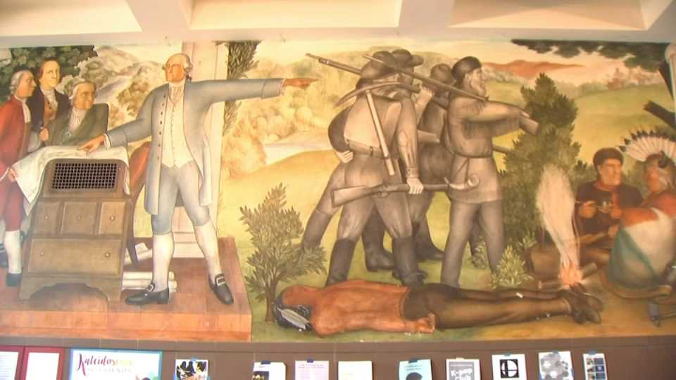 George Washington Mural Causes Controversy in SF High School