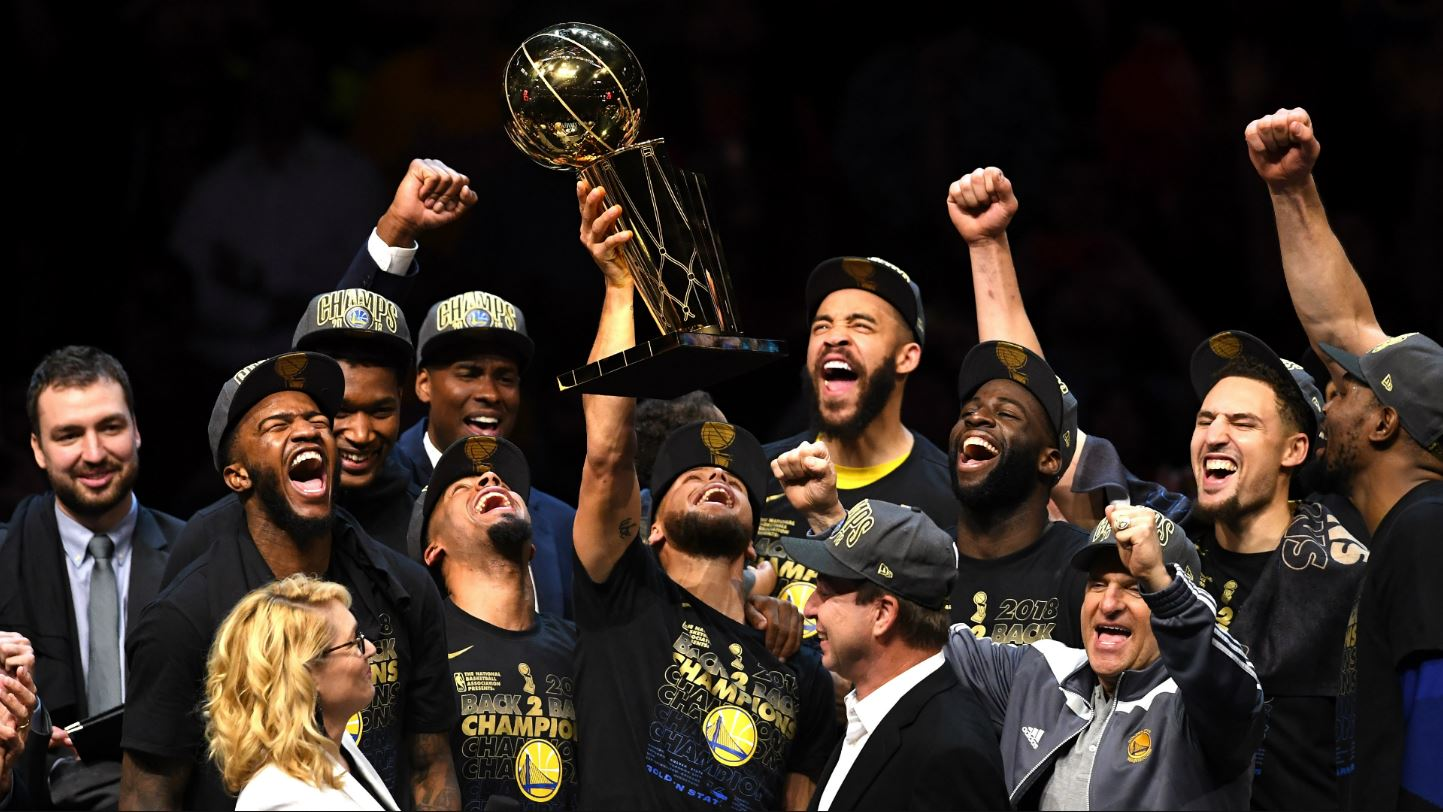 Warriors: Sports Illustrated's 'Sportsperson of the Year'