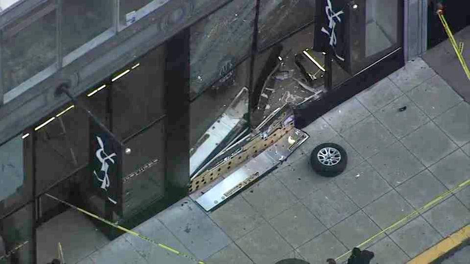 SF Police Investigate Smash-and-Grab at Saint Laurent Store