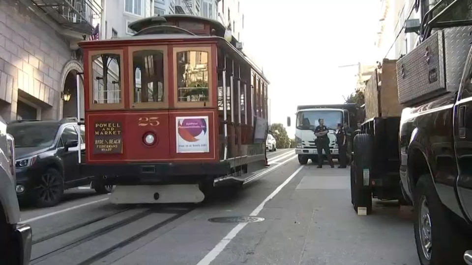 5 Injured After Truck Collides With Cable Car in SF