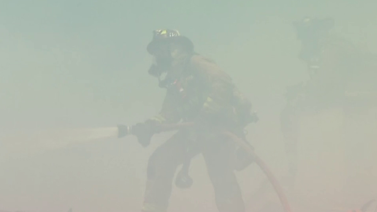 Fast Moving, Two-Alarm Brush Fire in Walnut Creek | Download