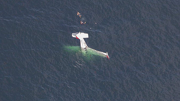 Pilot: Plane Crash in Ocean Off Half Moon Bay Not a Stunt