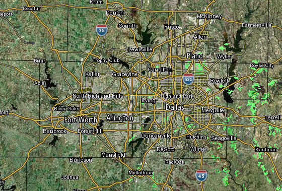 Interactive Radar Nbc 5 Dallas Fort Worth - Current-weather-us-map