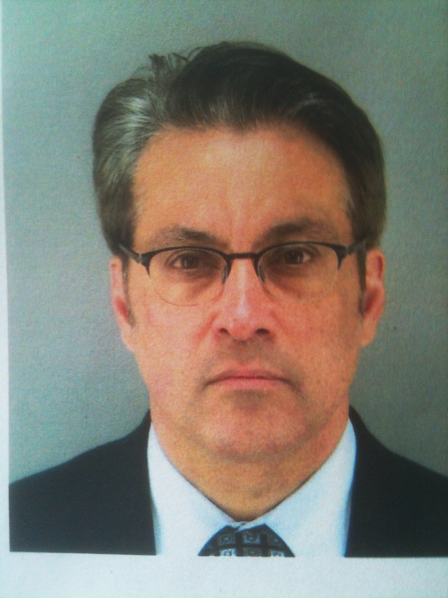 San Francisco Supervisor Ross Mirkarimi poses for his mugshot.