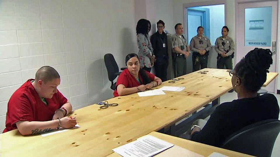 Class in Session for Santa Clara County High Risk Inmates