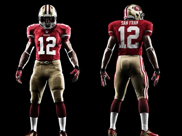 Nfl New Uniforms 2013 49ers 49ers Get New Uniforms...